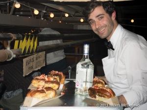 Hawker House - Bob's Lobster brings lobster rolls!