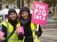 The Pig Idea: Crowd control with smiles
