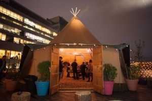 WigWamBam - Giant Teepee on the Queen of Hoxton