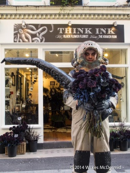 Think Ink - Black Flower Florist