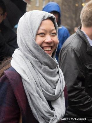 Felicia Tan (Twitter: @The_CheeksterX) sporting the full Malaysian look