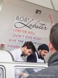 Give lobster... not roses...