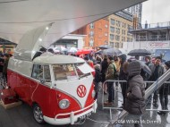 The Bob's Lobster VW Van under siege