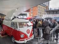 The Bob's Lobster VW Van under siege