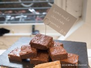 Chocolate brownies with your tea?