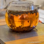 Fresh loose leaf tea