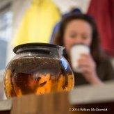 ... by staff who like tea