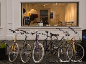 Tea and bikes