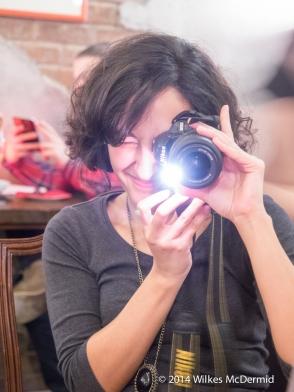 Leyla Kazim ('Your Local Guardian')... sponsored by Nikon's flash