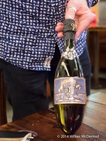 Kripta Brut nature, agusti torero 2007 (Macabeu 45%, Parellada 32%, Xarel-lo 23%) - A difficult bottle to put down...