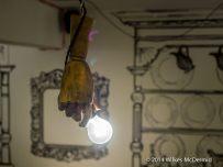 Dead dolls light holder...