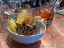 Cornbread, Seeded Batch, and Onion & Oliver Focaccia