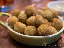 Excellent Crumbed Anchovy Olives...