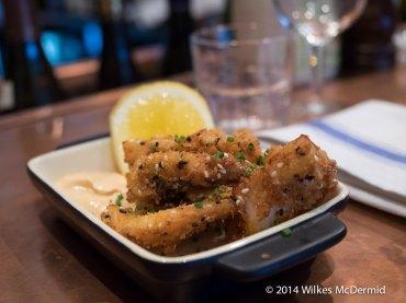 Sesame Crumbed Cuttlefish