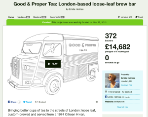 Good & Proper Tea on Kickstarter