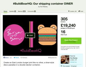 Burger Bear - On Kickstarter now