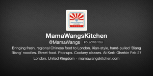 Mama Wangs Kitchen -  'Street Food, Pop-ups, and Cookery Classes.'