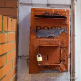 The neighbours need a new postbox...