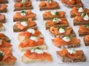 Smoked Salmon, Crème Fraîche & Dill, Hansen & Lydersen