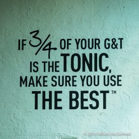 """If ¾ of your G&T is Tonic. Make sure you use the best..."" - Wisdom from Fever Tree"