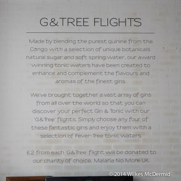 G&Tree Flights... great idea!