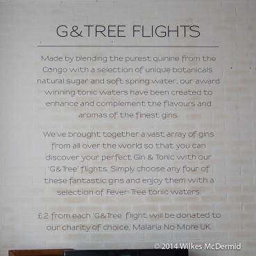 G&Tree Flights... great idea!