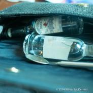 Spot the handbag of a Portobello Road Gin employee...