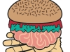 FREE HUMAN FLESH BURGERS! Presented by @Miss_Cakehead and @LDNmessChef for @WalkingDeadFOXtvUK