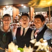 Andy Mil, Olly Brading, Elliot Ball