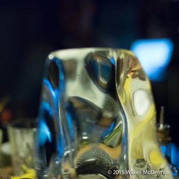 Bar Through Ice